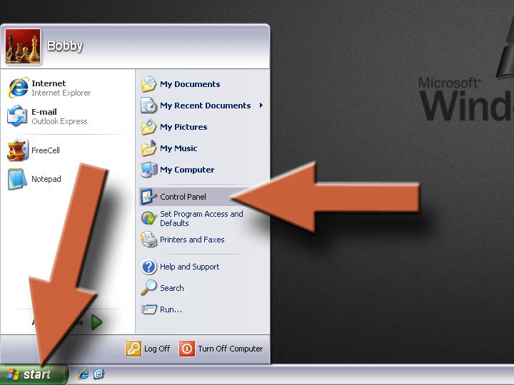 Enable XP Firewall