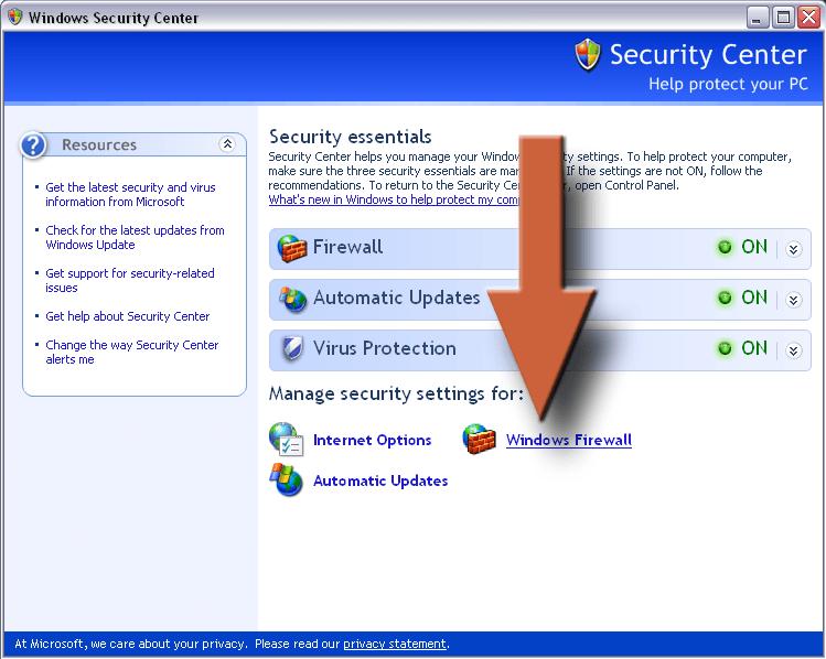 How to make a firewall f--f xyz 2019