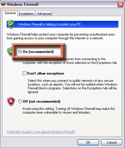 free antivirus and firewall for windows xp