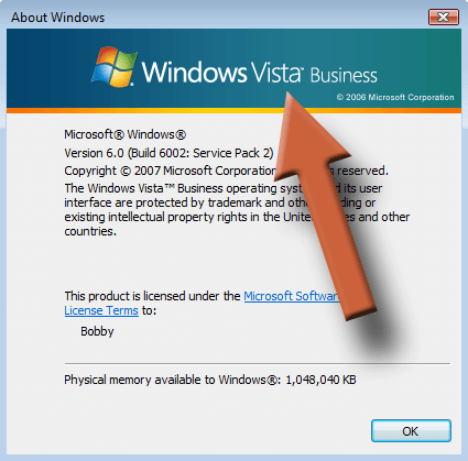 Image - Windows Version Vista