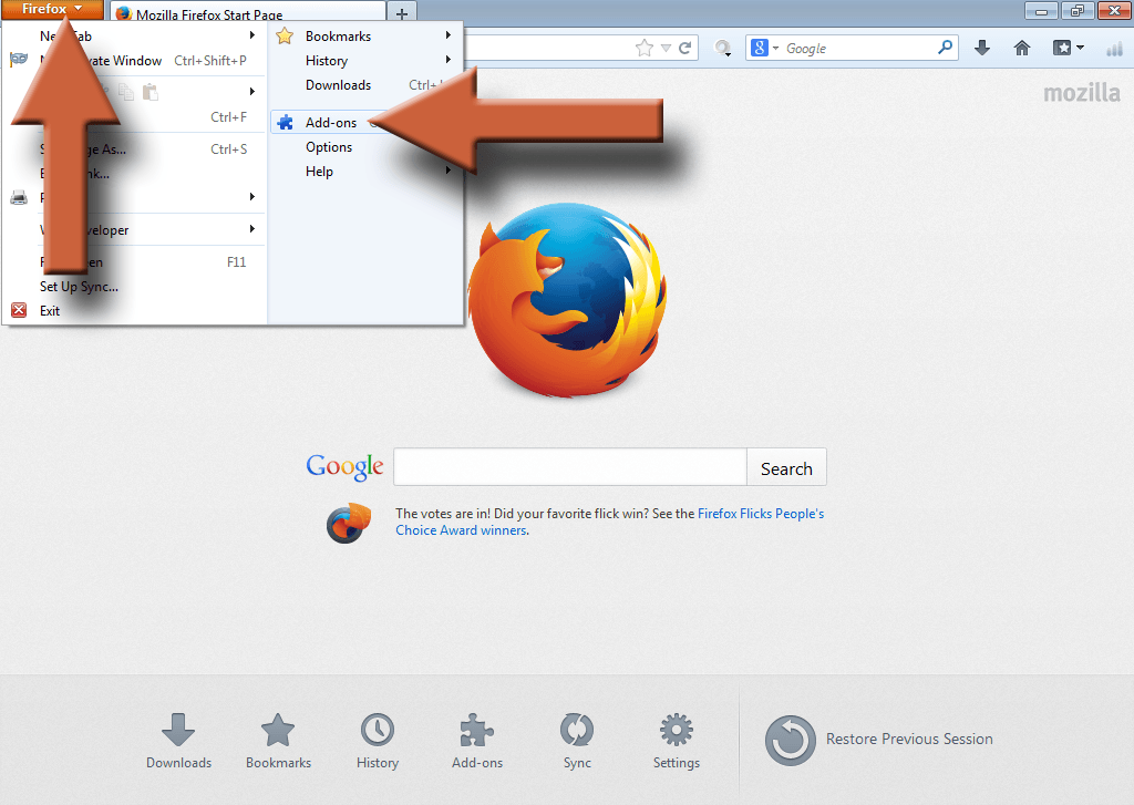 Image - Disable Java Firefox