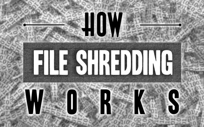 How Does Digital File Shredding Work? « TipTopSecurity