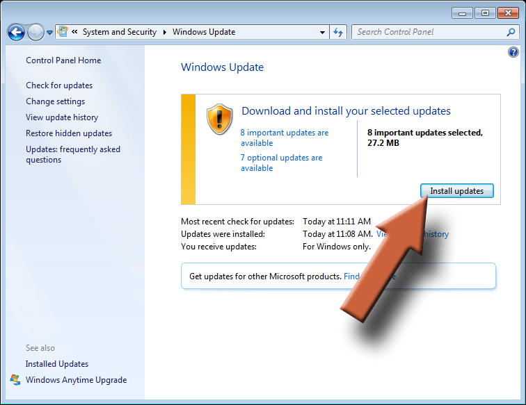 Image - Windows Update 7