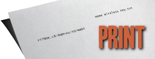 Wireless Password image
