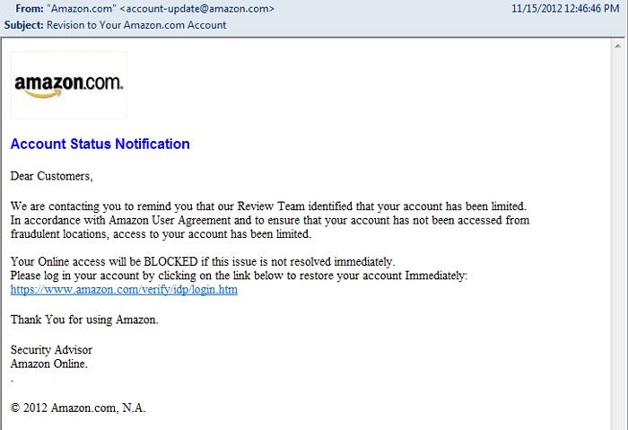 Phishing Example 2 image